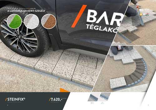 Barabás Steinfix térburkolat rögzítő