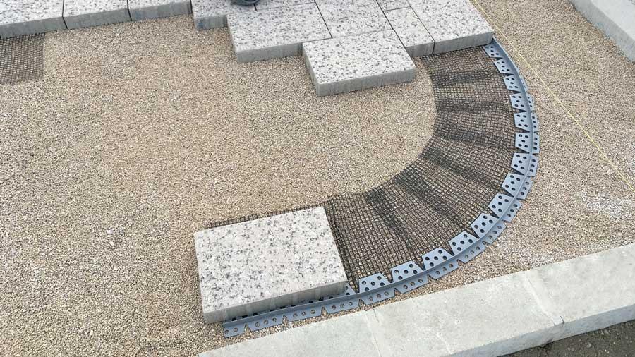 Steinfix kerti szegély íves, 200 cm